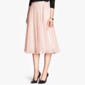 H&M Tulle Midi Skirt 🆕NWT🆕